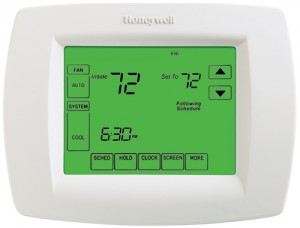 VisionPRO™ 8000 Thermostat with Touchscreen Programming - Honeywell TH8110U1003