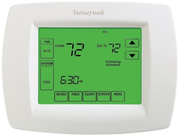VisionPRO™ 8000 Thermostat with Touchscreen Programming – Honeywell TH8110U1003