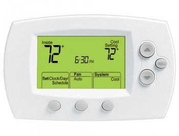 FocusPRO™ Digital Non-Programmable Large Display Thermostat – Honeywell TH6110D1021