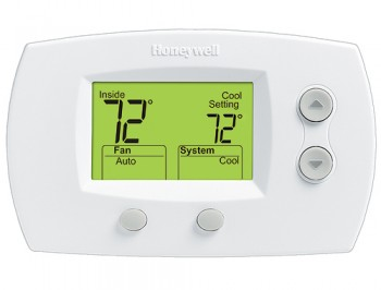 FocusPRO™ Digital Non-Programmable Large Display Thermostat – Honeywell TH5220D1029
