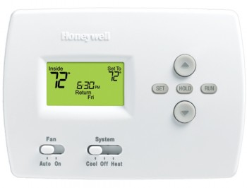 PRO 4000 5-2 Day Programmable Thermostat – Honeywell TH4110D1007