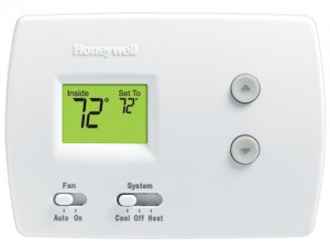 PRO 3000 Non-programmable Thermostat - Honeywell H3110D1008