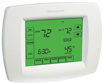 VisionPro IAQ Thermostat & Module – Honeywell YTH9421C1002
