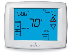 Big Blue Digital Touchscreen Thermostat - White Rodgers 1F95-1277