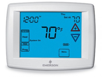 Big Blue Digital Touchscreen Thermostat – White Rodgers 1F95-1277
