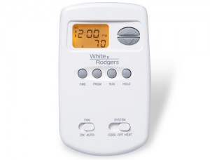 70 Series Programmable Digital Thermostat - White Rodgers 1E78-151