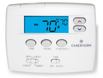 Programmable Blue Thermostat – White Rodgers 1F82-0261