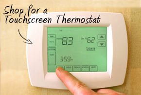 Shop for a Touchscreen Thermostat