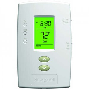 Basic Programmable Thermostat with Backlit Display - Honeywell TH2110D1009