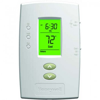 Basic Programmable Thermostat with Backlit Display – Honeywell TH2110D1009