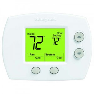 Non-Programmable 1 Heat/1 Cool Thermostat with Large Screen - Honeywell TH5110D1022