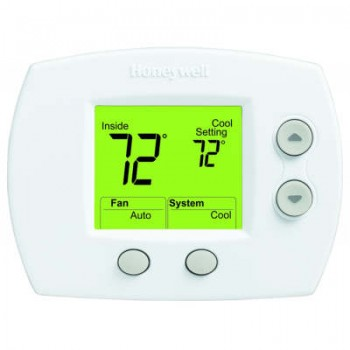 Non-Programmable 1 Heat/1 Cool Thermostat with Large Screen – Honeywell TH5110D1022