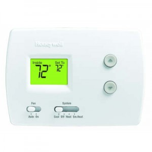 Non-Programmable Heat Pump Thermostat - Honeywell TH3210D1004