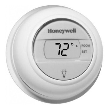 Round Digital Heat Only Non-Programmable Thermostat – Honeywell T8775A1009