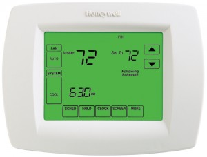 Programmable MultiStage Thermostat with Dehumidification - Honeywell TH8321U1006
