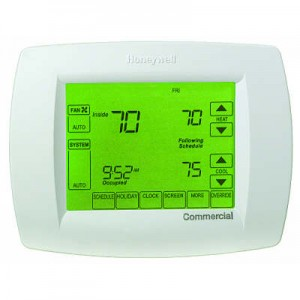 Programmable Touchscreen MultiStage Commercial Thermostat - Honeywell TB8220U1003
