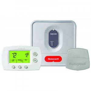 Wireless Thermostat System Kit with Non-Programmable Thermostat - Honeywell YTH5320R1000