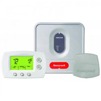 Wireless Thermostat System Kit with Non-Programmable Thermostat – Honeywell YTH5320R1000