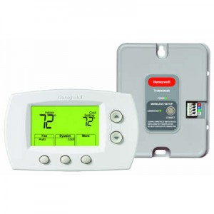 Wireless Zoning Adapter Kit with Non-Programmable Thermostat - Honeywell YTH5320R1025