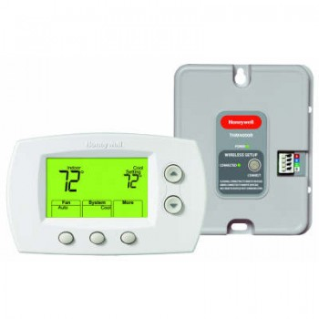 Wireless Zoning Adapter Kit with Non-Programmable Thermostat – Honeywell YTH5320R1025