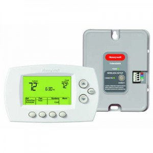 Wireless Zoning Adapter Kit with Programmable Thermostat - Honeywell YTH6320R1023