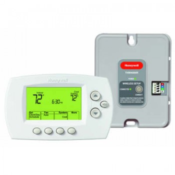 Wireless Zoning Adapter Kit with Programmable Thermostat – Honeywell YTH6320R1023