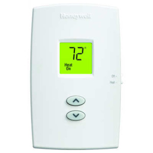 PRO 1000 Single stage Heat only Vertical Non-Programmable Thermostats - Color